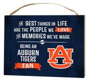 KH Sports Fan 1000101114 10cm x 14cm Auburn Tigers Best Things Small Collage Plaque