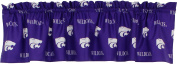 College Covers Kansas State Wildcats Printed Curtain Valance, 210cm by 38cm