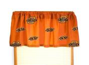 Oklahoma State Printed Curtain Valance - 84 x 15 - Oklahoma State Cowboys