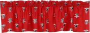College Covers Texas Tech Red Raiders Printed Curtain Valance - 210cm x 38cm