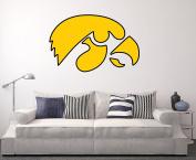 Iowa Hawkeyes Wall Decal Home Decor Art NCAA Team Sticker