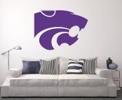 Kansas State Wildcats Wall Decal Home Decor Art NCAA Team Sticker