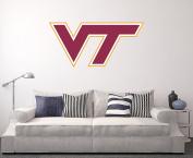 Virginia Tech Hokies Wall Decal Home Decor Art NCAA Team Sticker