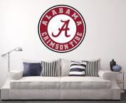 Alabama Crimson Tide Wall Decal Home Decor Art College Football NCAA Team Sticker