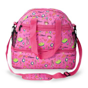 Roo Beauty Girls Large Dance Bag With Shoe Storage Compartment I Love Dance