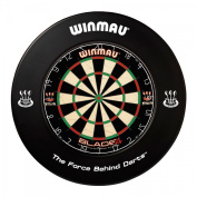 Winmau Dartboard Surround Black Dart Collection Ring Catch With Ring Printed