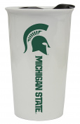 Michigan State Spartans Double Walled Ceramic Tumbler