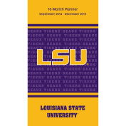Turner Perfect Timing 2015 LSU Tigers 16-Month Planner