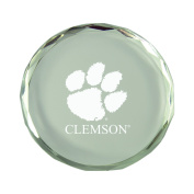 Clemson University-Crystal Paper Weight