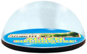 NCAA Kansas University Jayhawks Basketball Arena in 5.1cm crystal magnetised paperweight with Coloured Window Gift Box