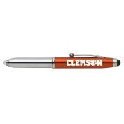 Clemson University-Triple Function Stylus Pen-Orange