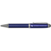 University of Kentucky -Carbon Fibre Ballpoint Pen-Blue