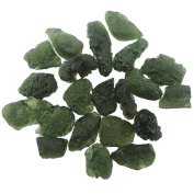 Large Size, 1st Class Moldavite From Czech Republic 7 Full Carats, No Damage