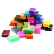 Kids 32pcs Plasticine,Hemlock Children Soft Clay Blocks DIY Plasticine Toys