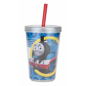 Thomas the Train Tumbler, Bowl and Stickers by MadFunToys (BPA FREE)