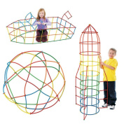 Millya Straw Building Construction Toy Set for Kids - 400 Pcs Plastic Creative And Educational Building Blocks