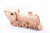 Locomotive - Natural Brown Fold up cardboard