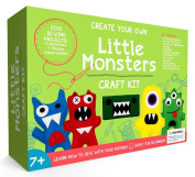 Little Monsters Beginners Sewing Kit - Awesome Gift For Girls & Boys Ages 7 to 13, Best Educational Craft Kit & Toys for Kids