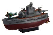 Chibi Maruko fleet series No.17 Chibi Maruko fleet Italian 400 type submarines two ships set Plastic
