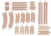 Woodyland Track Set (20-Piece)