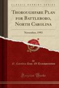 Thoroughfare Plan for Battleboro, North Carolina