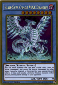 Yu-Gi-Oh! - Blue-Eyes Chaos MAX Dragon (MVP1-ENG04) - The Dark Side of Dimensions Movie Pack Gold Edition - 1st Edition - Gold Rare