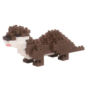 Nanoblock Small Clawed Otter Building Kit