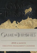 Game of Thrones 2018 16-Month Executive Engagement Calendar