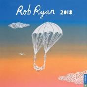 Rob Ryan 2018 Wall Calendar