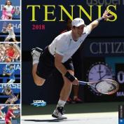 Tennis the U.S. Open 2018 Wall Calendar