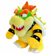 Bowser Plush 25cm - Super Mario Bros Plushie Toy 25cm Tall PRIME