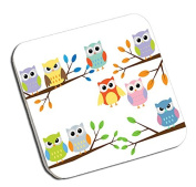 Owl Design Unique coaster ideal gift for Christmas, Birthday,Teacher, School, Any occasion