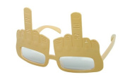 P 'tit clown - 35380 - Middle Finger Design Glasses Plastic - One Size