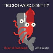 The Art of David Olenick 2018 Wall Calendar