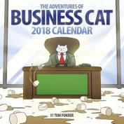 Business Cat 2018 Wall Calendar