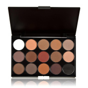 JACKY 15 Colours Women Cosmetic Makeup Neutral Nudes Warm Eyeshadow Palette