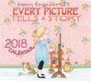 Mary Engelbreit 2018 Deluxe Wall Calendar