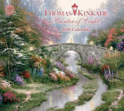 Thomas Kinkade Painter of Light 2018 Deluxe Wall Calendar