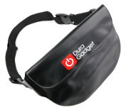 DURAGADGET Holiday & Travel Water-Resistant Pouch Case with Adjustable Waist Strap in Black for the NEW Mestall Mini Sport Digital Video Camcorder