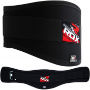 RDX Men's Fitness Neoprene Weight Lifting Belt Gym Training Weight Lifters Style Back
