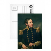 Vice Admiral Robert Fitzroy (1805-65).. - Postcard (Pack of 8) - 15cm x 10cm - Art247 Highest Quality - Standard Size - Pack Of 8