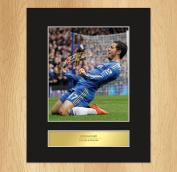 Eden Hazard Signed Mounted Photo Display Chelsea