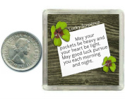 Lucky Sixpence Coin Good Luck Charm Gift, great present idea for Birthday, Xmas, Retirement , Exams, Wedding, Anniversaries, Suitable for Husband, Wife, Friends or Colleagues