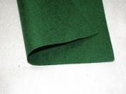 2x Self Adhesive Felt Baize Fabric Squares - Dark Green