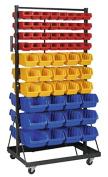 Sealey TPS118 118 Bins Mobile Bin Storage System