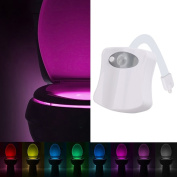 YIERTOWN Toilet Night Light With Motion Activated Sensor