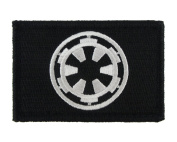 Galactic Empire Hook and loop Fully Embroidered Morale Tags Patch