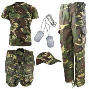 Kombat UK Children's Dpm Camouflage Explorer Army Kit