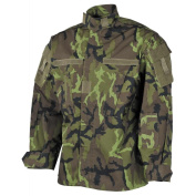 MFH ACU Field Shirt Czech M95 Woodland Camo Airsoft Army Military Style Rip Stop