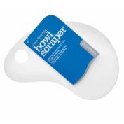 Flexible Plastic Bowl Scraper Ideal for Sausage Mix / Cake Mix / Burger Mix / Bread Mix etc / Spatula